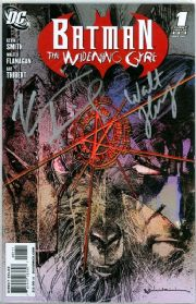 Batman Widening Gyre #1 Dynamic Forces Signed Kevin Smith & Walt Flanagan DF COA DC comic book